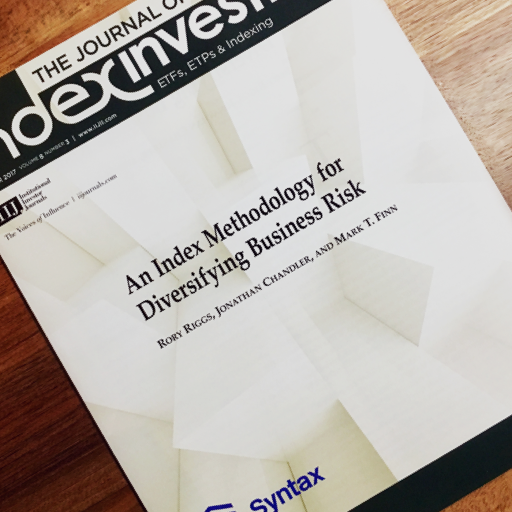 Journal of Index Investing